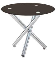 Обеденный стол Дезире,  цвет стекла черный