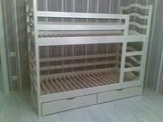 Кровать двухъярусная София с 2 ящиками