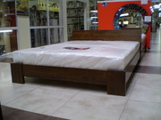 Кровати деревянные буковые фабрики Эстелла (Львов)