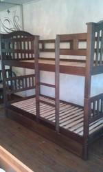 Кровать двухъярусная Максим с подкроватными ящиками