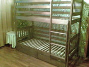 Кровать двухъярусная Ева с 2 ящиками