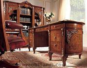 Офисная ВИП мебель для руководителя.Классический кабинет BEGGENZA  V2 Итал