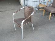 Продам кресла ротанг б/у в ресторан,  кафе,  общепит