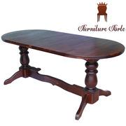 Купить деревянный обеденный стол,  Стол Аврора Сплошной