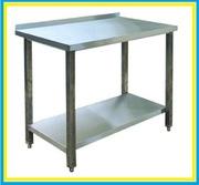 Стол производственный разделочный нейтральный Б/У оборудование из нерж